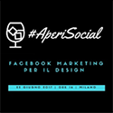 Aperisocial - Facebook Marketing per il design