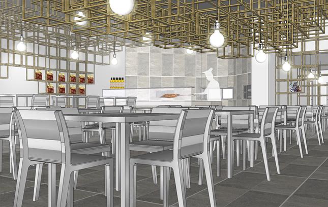 Design per l 39 innovazione di ristoranti e locali pizzeria for Design render milano