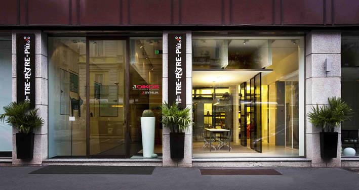 News su design ed architettura for Showroom arredo bagno milano