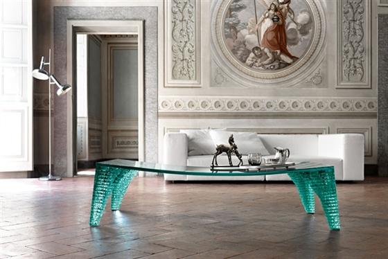Tavoli In Cristallo Fiam.News Su Design Ed Architettura