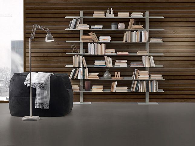 Librerie Moderne In Acciaio.Siderio Siderio