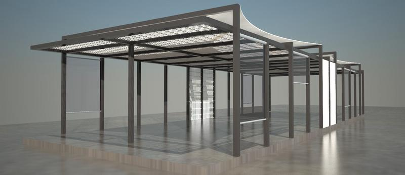 struttura in ferro - Filippo Gallina