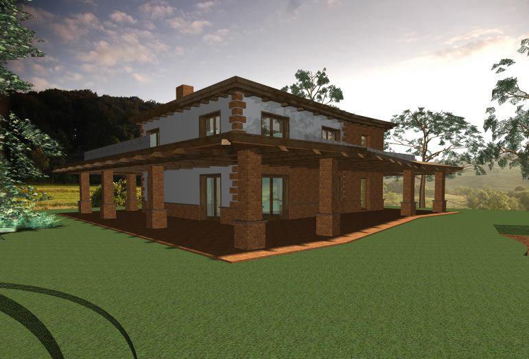 Famoso Progetto casa di campagna - Vivienne Brigitte Lamparella QS45