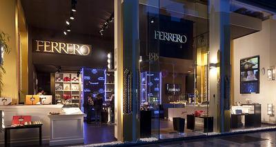 FERRERO TEMPORARY STORE