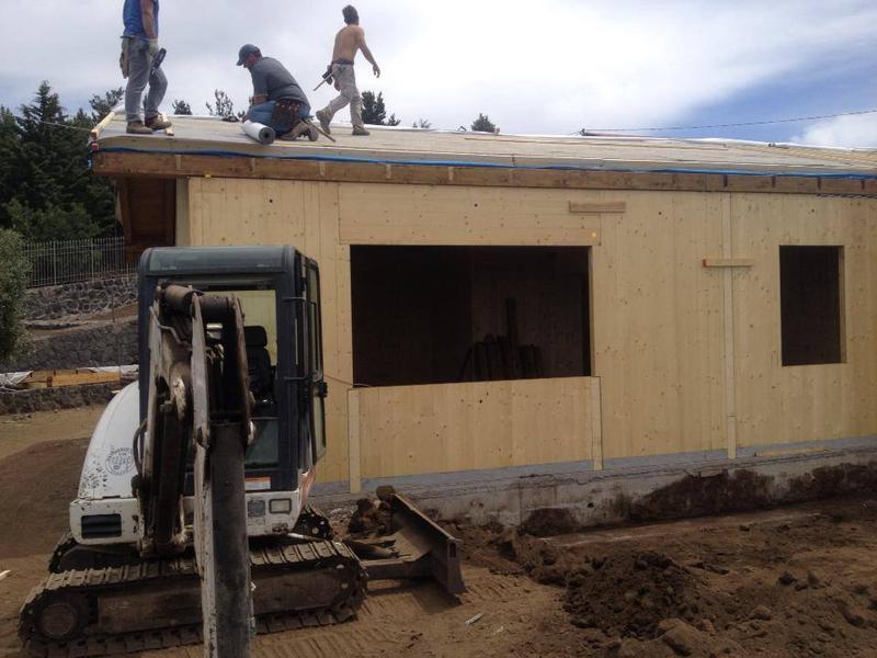 Progettazione Casa In Legno : Progetto casa in legno tiziano casesa t c interior design