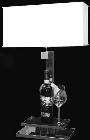 WINE TABLE LAMP