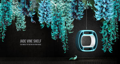 JADE VINE SHELF