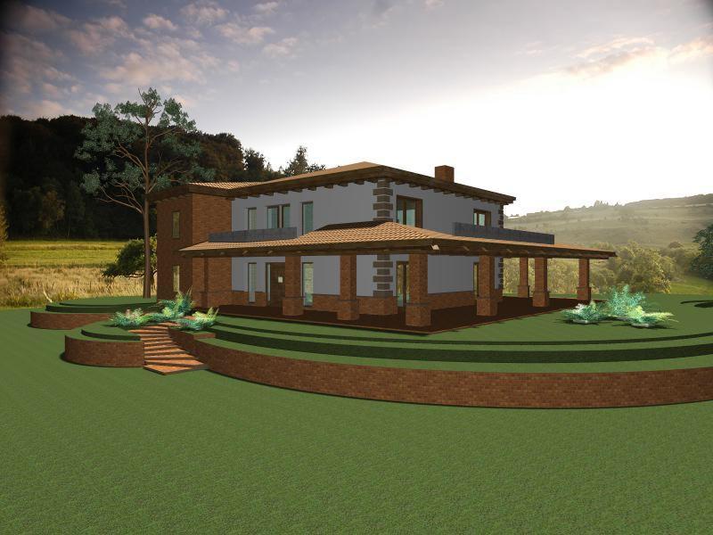 Molto Progetto casa di campagna - Vivienne Brigitte Lamparella TU78