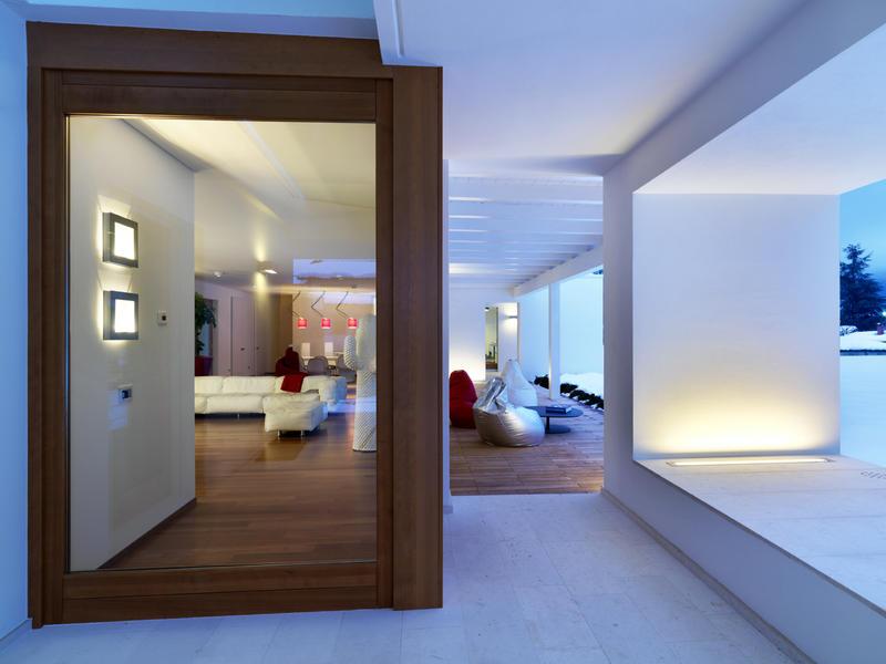 Horizontal space duilio damilano damilano studio architects - Residence horizontal space damilano studio ...