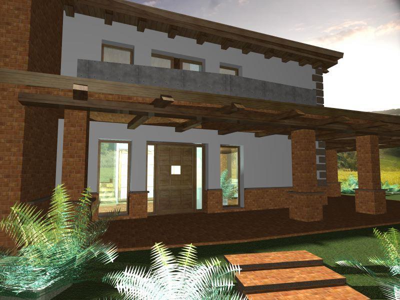Progetto casa di campagna excellent casa el bosque con - Progetto casa campagna ...